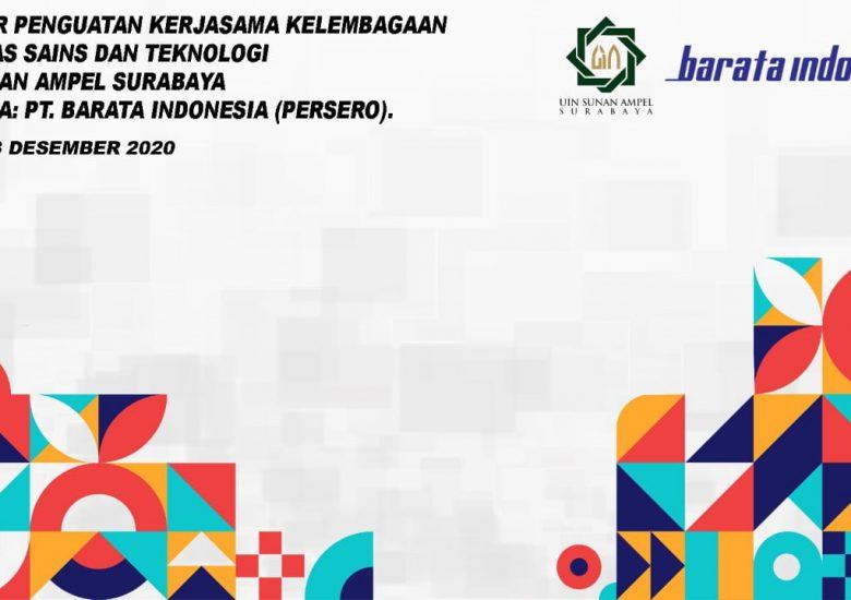 FST UINSA MENGADAKAN WEBINAR BERSAMA  PT. BARATA INDONESIA (PERSERO)
